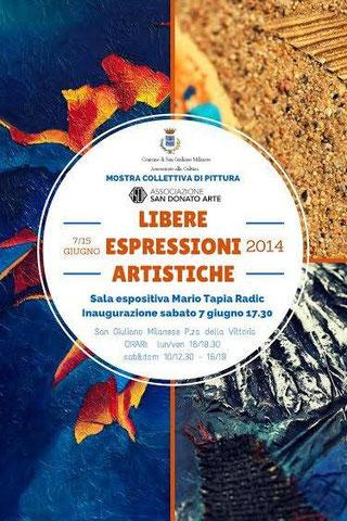 Libere Espressioni Artistiche 7 - 15 giugno San Giuliano Milanese