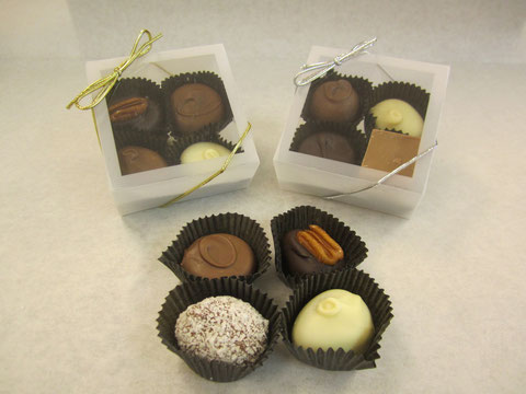 4 Piece Chocolates