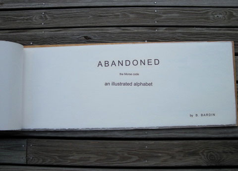 ABANDONED title page
