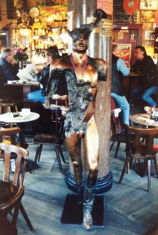 Guardian of the Groove, 1993, 194 cm - Yorckschlösschen Berlin