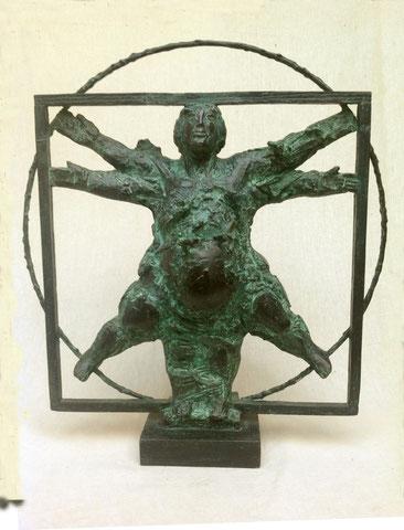 Vitruv-Mann, 2003, 42 cm