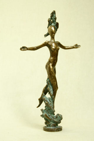 Panta Rhei, klein, 2011, 32 cm