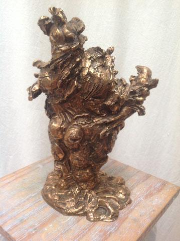Gier, 2012, 32 cm
