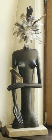 Die Galeristin, 1989, 65 cm