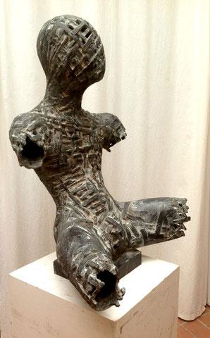 Der Lesende, 2003, 80 cm