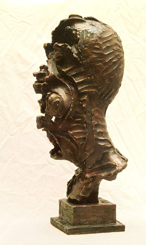 Laotse, 2001, 50 cm