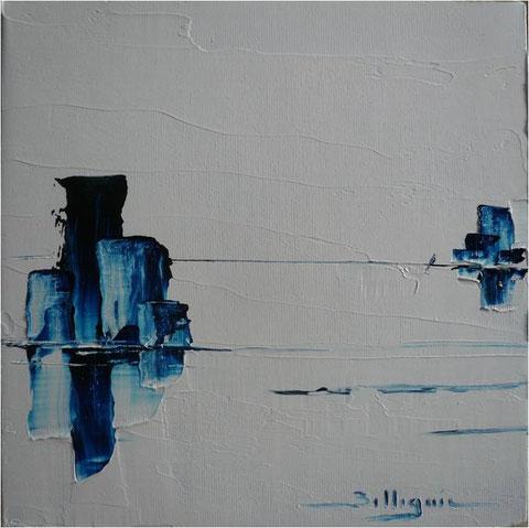 alain-belleguie-dream V Huile sur carton toilé 20 cm x 20 cm