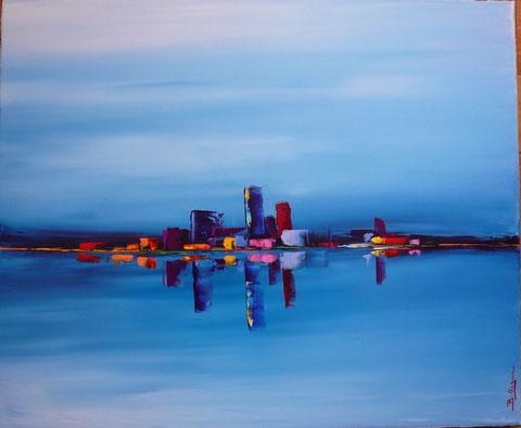 alain-belleguie-reflets H/T 60 cm x 50 cm (Collection privée)