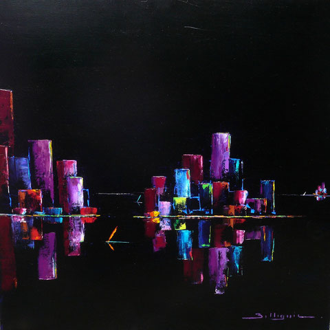 alain-belleguie-night-colors H/T 80 cm x 80 cm