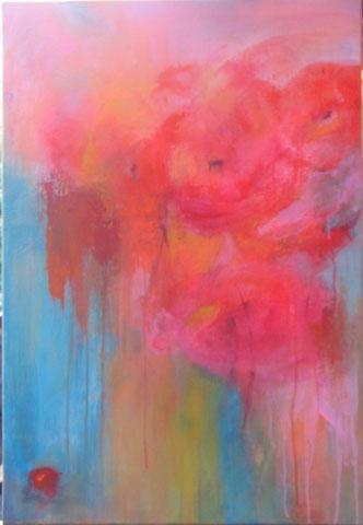 Florale II -  Acrylique sur toile - 50 x 70 -2012