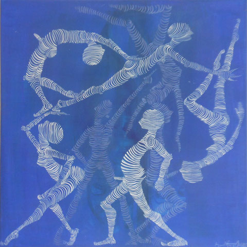 Movement  60x60 cm  Acryl