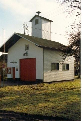 Feuerwehrhaus ohne Zubau 1989