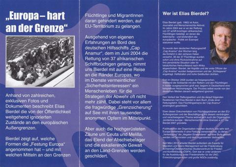 Elias Bierdel, Festung Europa, 10/11.01.13