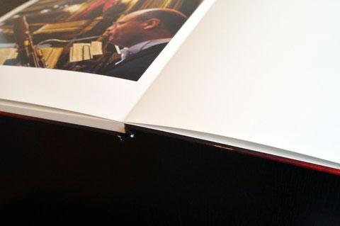 Fotobuch der Konkurrenz: Zusätzliche Leerseiten am Ende des Buches