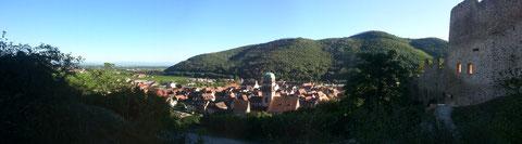 Aussicht vom Schloss