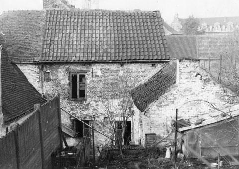 Rue du Wichet janvier 1971