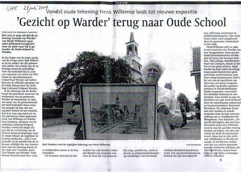 """over de expositie """"Gezicht op Warder"""""""