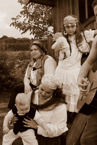 Gabrielle, Laura, Charlyne et Matéo