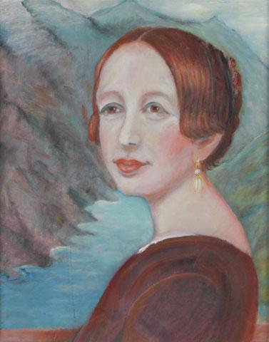 Studie nach Laura Kruse (1832), 2006, Öl/LW 50x40 cm