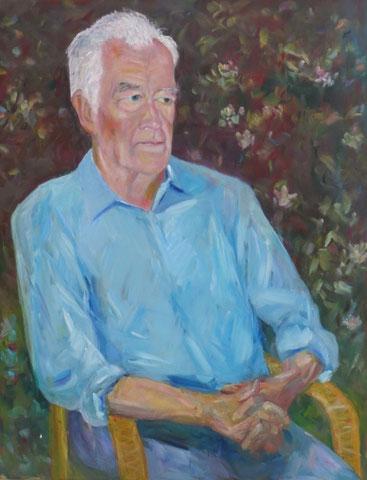 Manfred Osthaus,  2008-12, Öl/LW 90x70 cm
