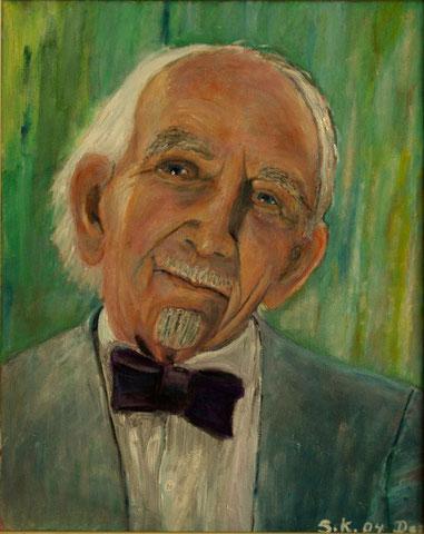 Edgar. A. Kleemann, 2004, Öl/LW 50x40 cm