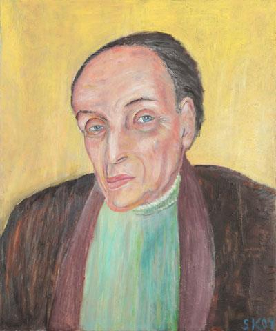 Lucien Hervé, 2004, Öl/LW, 60x50 cm