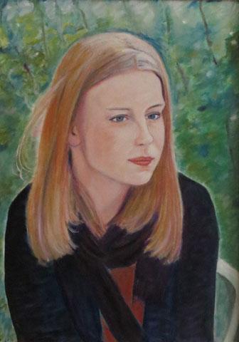 Bremer Mädchen, 2011, Öl/LW 70x50 cm