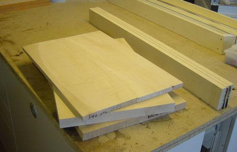 Hier sind die Materialien zu sehen, die ich bei der Florentina verwendet habe.