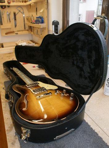 ... damit das Instrument möglichst gut aufgehoben ist.