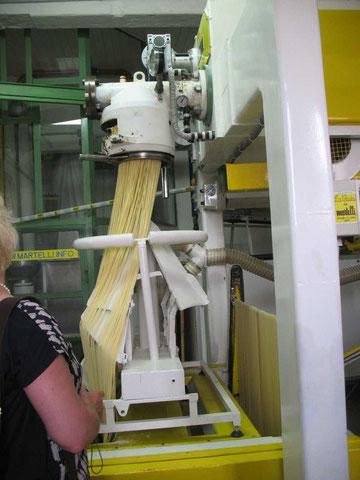 Herstellung italienischer Pasta in einem Familienbetrieb