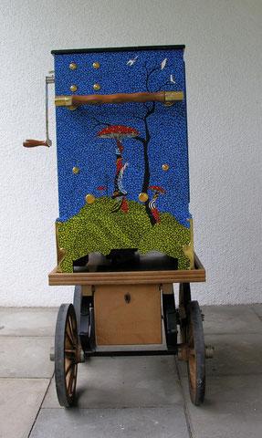 """ANA BÜCHEL, 2011, Drehorgel, """"Magie der Musik & der Märchen"""""""