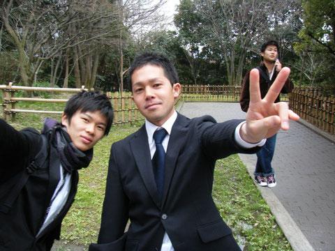 奥野先輩!!
