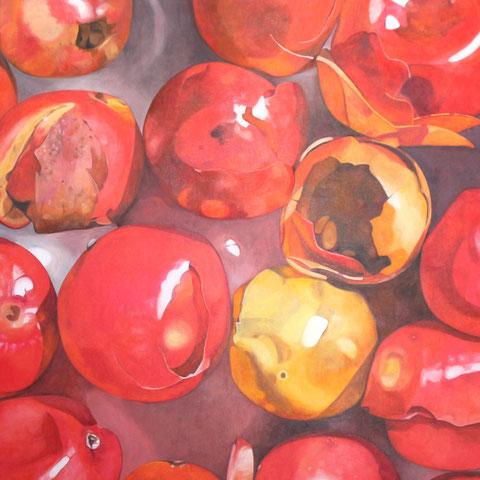 schinus molle (scheinpfeffer) 2015 90x90 oil/canvas