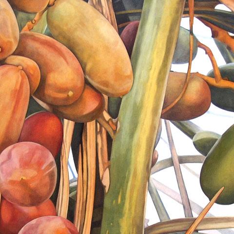 phoenix dactylifera I 2014 160x80cm oil/canvas
