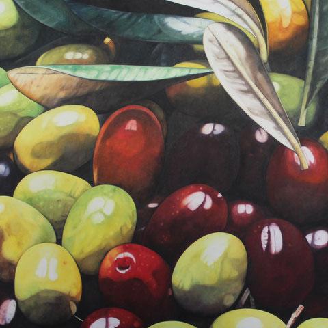 olea europaea XI 100x120cm oil/canvas