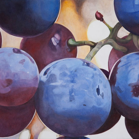 vitis vinifera VIII 70x60cm oil/canvas