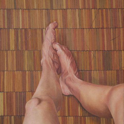 Nachahmen, Öl auf Leinwand, 48cm x 60cm, 2013