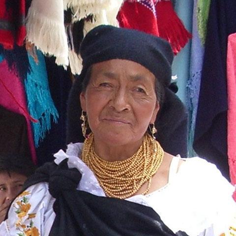 Das Lächeln im Andenhochland