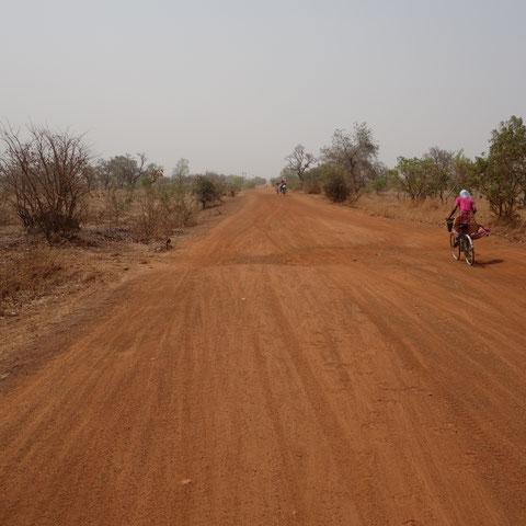 Grenzgebiet zwischen Ghana und Togo