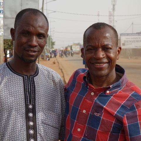 Ibrahim mit einem Bruder