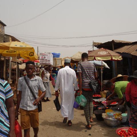 Markt in Kumasi