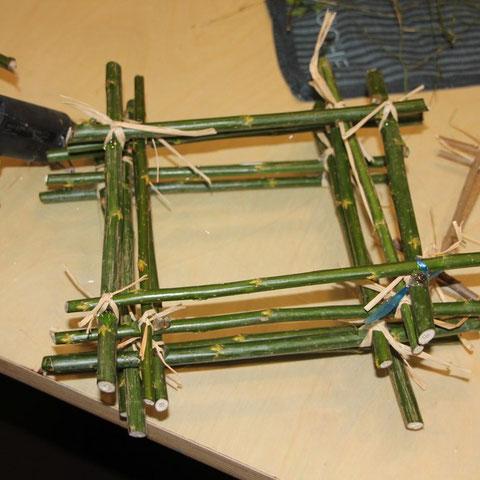 Rahmen aus Weide