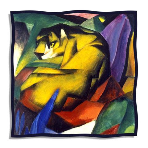 Artikel Nr. 1061 - Der Tiger - F. Marc (100 x 100 cm)