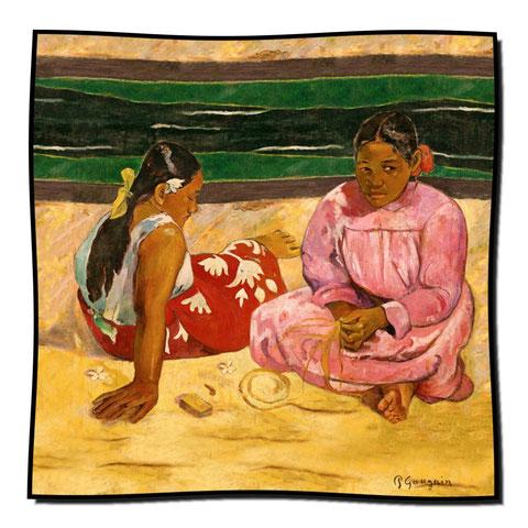 Artikel Nr. 1082 Frauen von Tahiti - Gauguin (100 x 100 cm)
