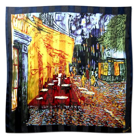 Artikel Nr. 1071 Nachtcafe - Van Gogh (100 x 100 cm)