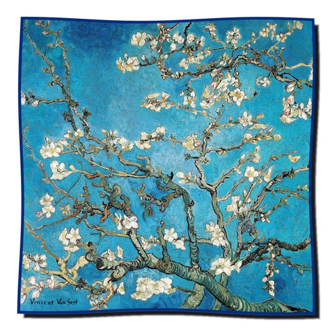 Artikel Nr. 1074 Mandelbaum - Van Gogh (100 x 100 cm)