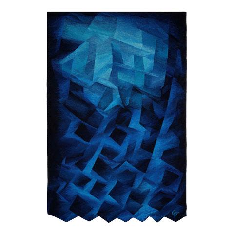 Blauklang, 270 x 182 cm, Foto: Nik Fleischmann