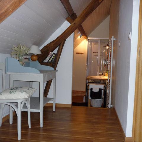 Le petit grenier - Les Noisetiers chambres d'hôtes au coeur du Val de Noye