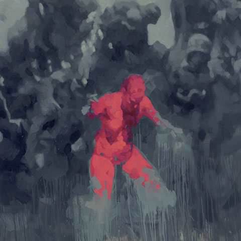 """adam bota, """"wehrmachtmädchen"""", 2012, 200 x 180, öl auf leinwand – galerie erlas"""