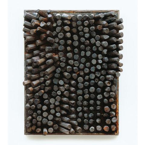 "gerhard weigl, ""o.t."", vor 1970, 52 x 39 x 10 cm, holz – galerie erlas"